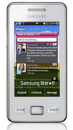 Samsung Star II S5260 announced