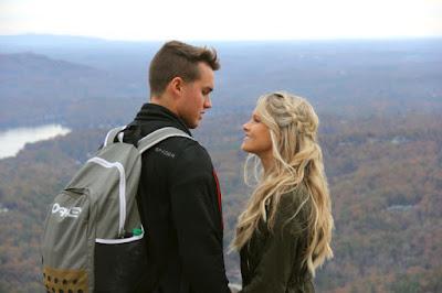 Josie Bates and Kelton Balka honeymoon