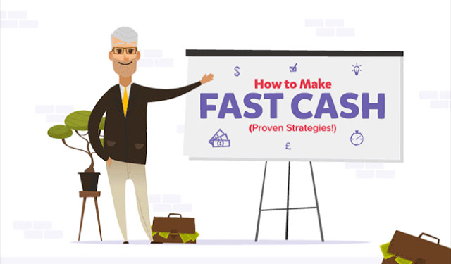 How To Make Fast Cash #infographic