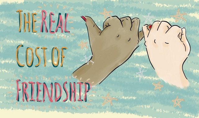 The Real Cost of Friendship #infographic
