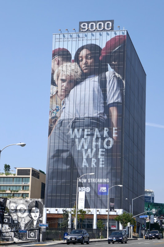 Giant We Are Who We Are launch billboard