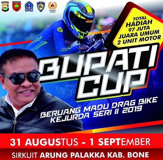 Kejurda Drag Bike Seri II 2019 Bupati Cup Beruang Madu Kabupaten Bone
