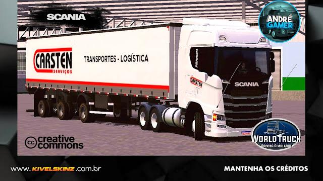 SCANIA S730 - CARSTEN SERVIÇOS