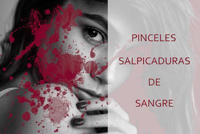 Pinceles salpicaduras de sangre - Para Photoshop o Gimp