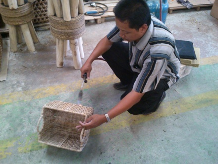 Kerajinan Debog Pisang ~ PSM JOGJA - Penggerak Swadaya