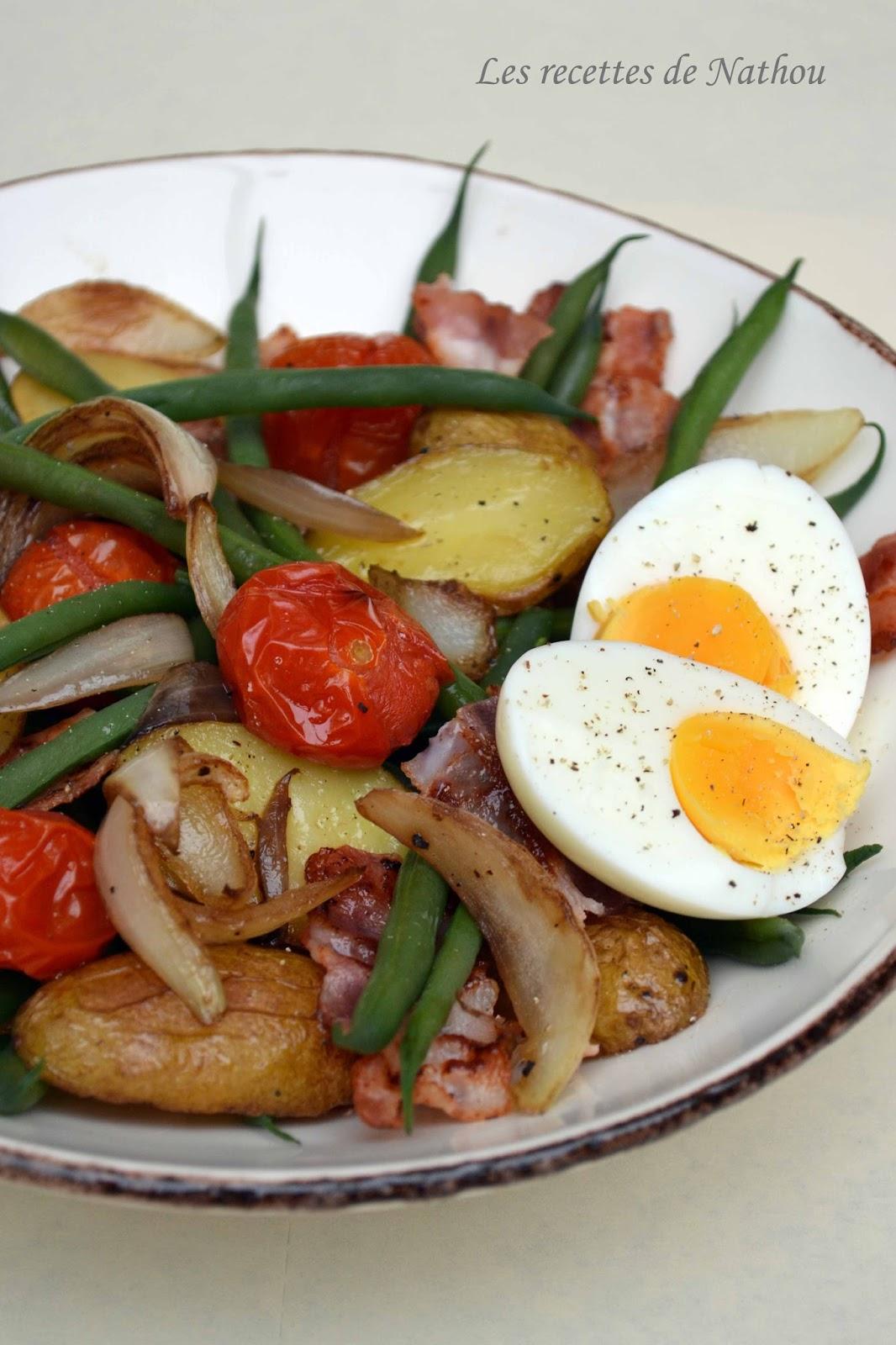 Salade li geoise revue ma mode blogs de cuisine - Les meilleurs sites de recettes de cuisine ...