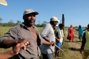 In Vallecito: Die Garifuna verteidigen ihr traditionelles Land. Quelle: Ocote Films