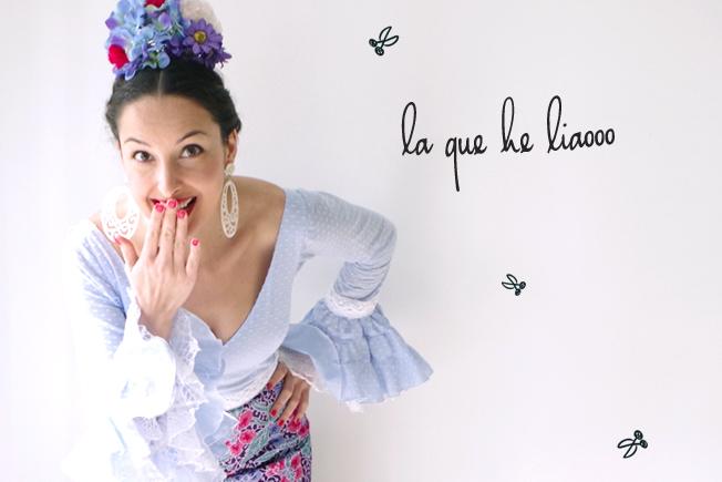 Mis diez errores como modista de flamenca