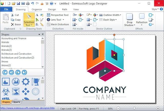 EximiousSoft Logo Designer 3.90 + Crack - Công cụ thiết kế logo