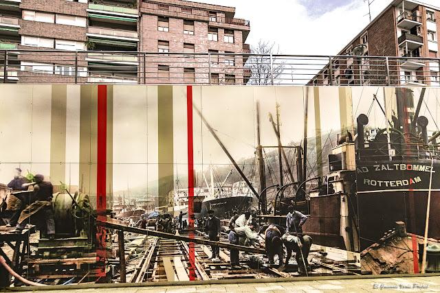 Mural de Matiko, por Estudios Durero - Bilbao, por El Guisante Verde Project