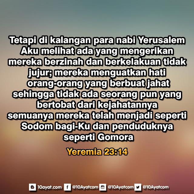 Yeremia 23:14
