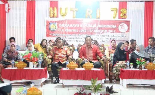 Wakil Bupati, Hadiri Acara Ramah Tamah Kemerdekaan Di Bontomanai