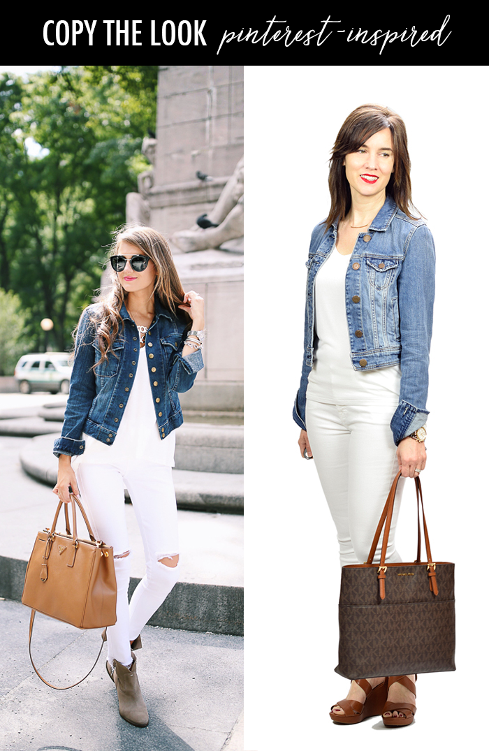 35c4baa3f7 How to Wear White Jeans + Fashion Link Up