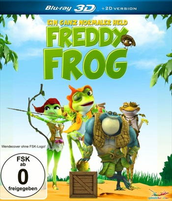 Frog Kingdom 2013 Dual Audio Hindi 480p BluRay 280mb