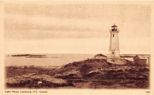 Louisbourg Lighthouse, Louisbourg, Nova Scotia