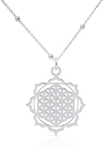 Colgante Flor de la Vida de plata