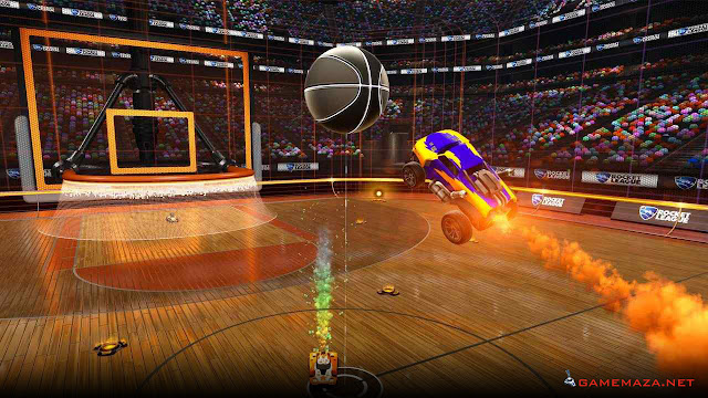 Rocket League NBA Flag Pack Gameplay Screenshot 1
