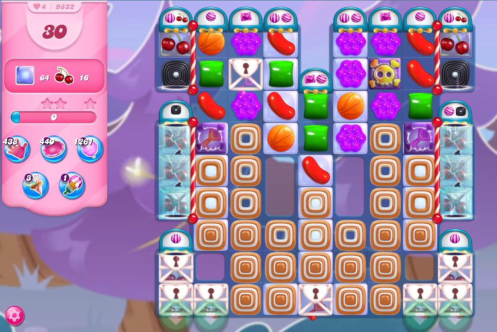 Candy Crush Saga level 9832