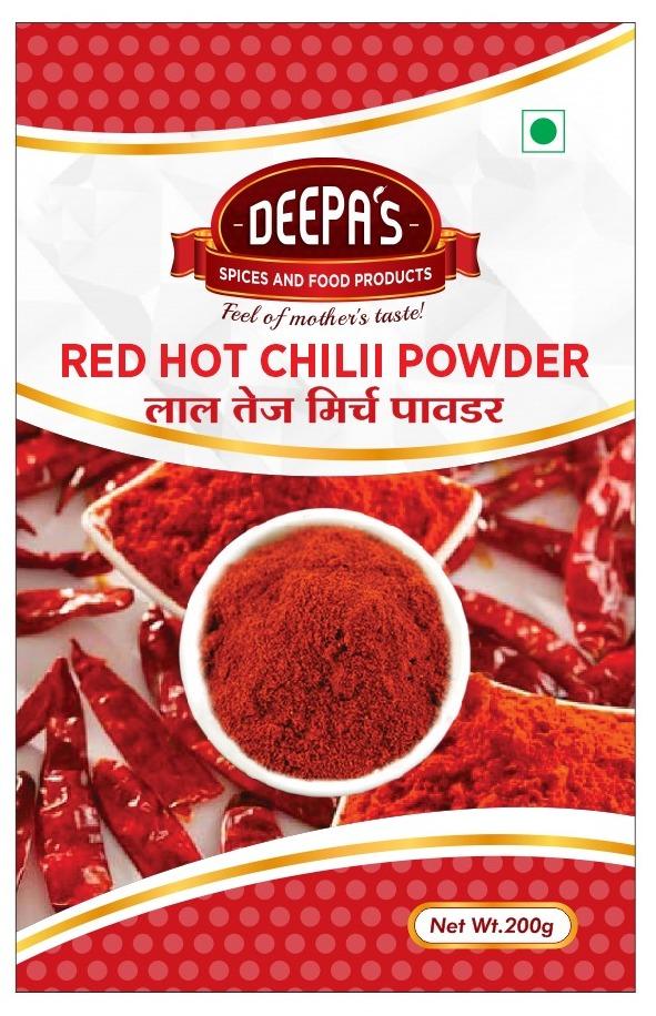 Red Hot Chili Powder 200gm