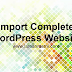 5. Cara Import/Restore website WordPress menggunakan WP Clone