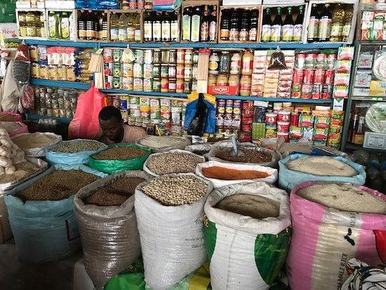 Tourisme, marché, kermel, ville, légumes, frais, fruits, LEUKSENEGAL, Sénégal, Dakar, Afrique