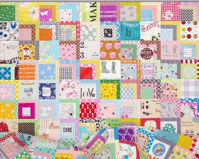 A Color Splash Quilt | Red Pepper Quilts 2016
