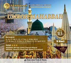 Umroh Khazzanah Tour Mahabbah Ettihad