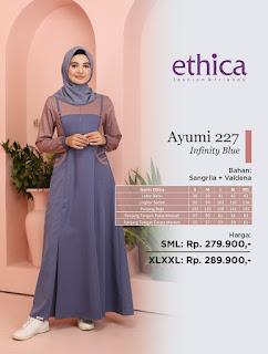 Koleksi Baju Muslim Modern Terbaru ETHICA AYUMI  227