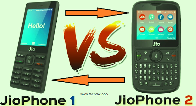 Jio Phone 2 vs Jio Phone: What's The Difference>> Jio Phone 2 vs Jio Phone: Price, specifications, design>> Techrax