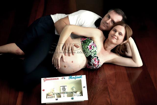 fotos de gravidas de gêmeos