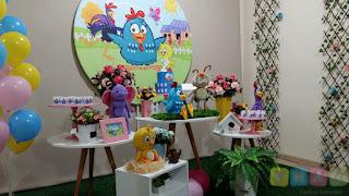 Decoração festa infantil Galinha Pintadinha