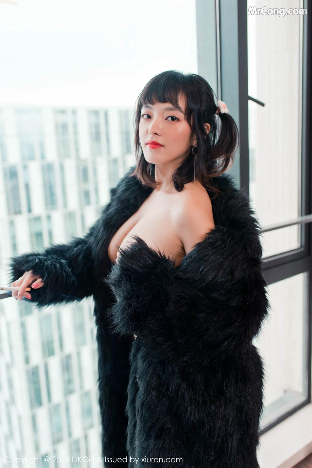 Image DKGirl-Vol.118-Zhang-Hua-Hua-MrCong.com-005 in post DKGirl Vol.118: Zhang Hua Hua (张花花) (51 ảnh)