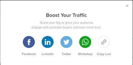 Promote Your Gig To Boost Visibility