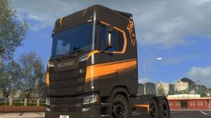 High Roof Skin for Scania S