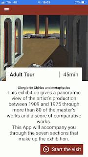 De Chirico e la Metafisicaのアプリ