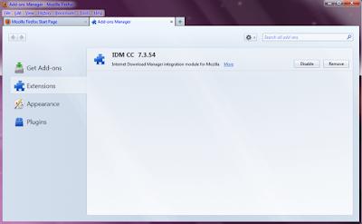 idm cc disable