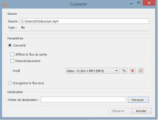 كيف تقوم بتحويل اي صيغة فيديو الى mp4 باستخدام برنامج VLC