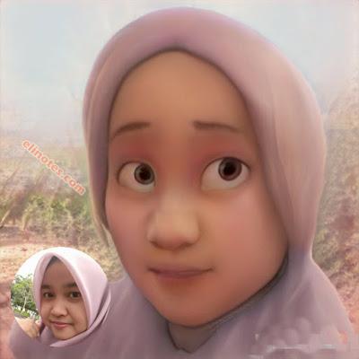 aplikasi viral edit wajah jadi mirip anime 3d