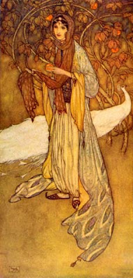 An Arabian-nights princess by Dulac