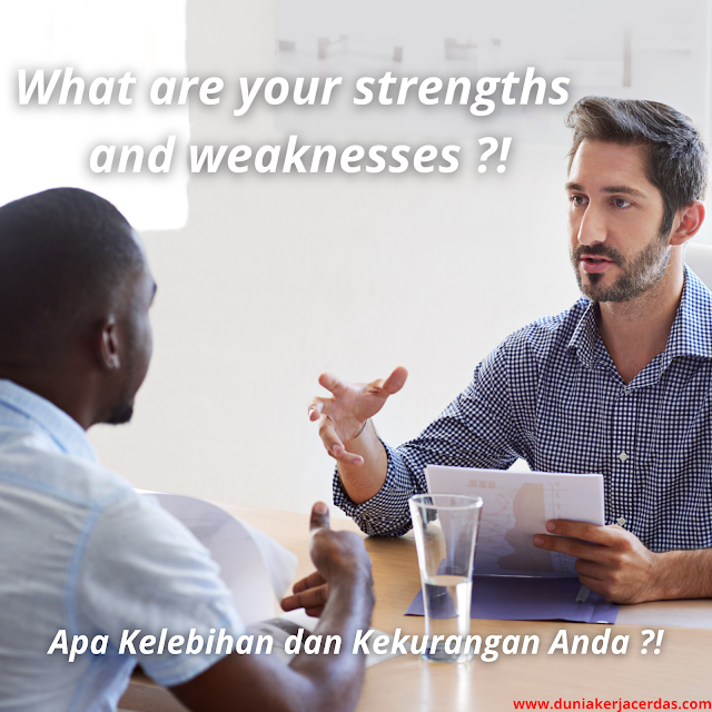 """Tips for Answering Interview Questions """"What are your strengths and weaknesses"""""""