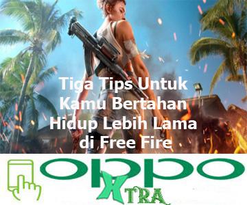 Tiga Tips Untuk Kamu Bertahan Hidup Lebih Lama di Free Fire