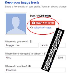 Cara daftar Google Plus (google+)