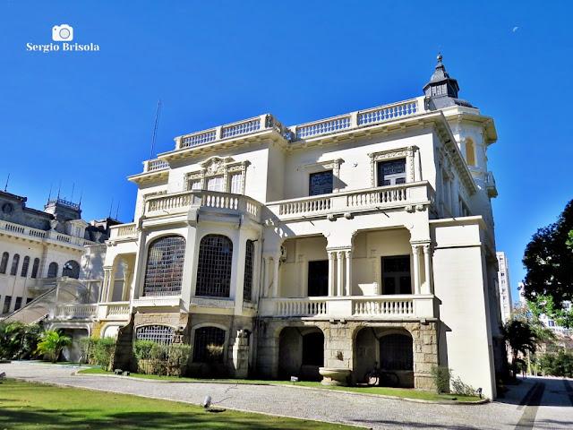 Palácio dos Cedros (fachada posterior)