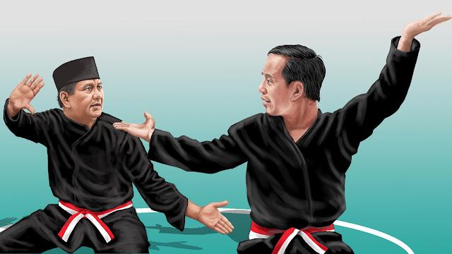 LSI: Jokowi Menang di Facebook, Prabowo Kuasai Twitter dan Instagram