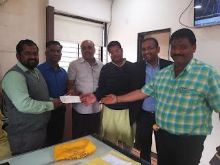 श्री महाकालेश्वर मंदिर में 1 लाख से अधिक की राशि दान में प्राप्त