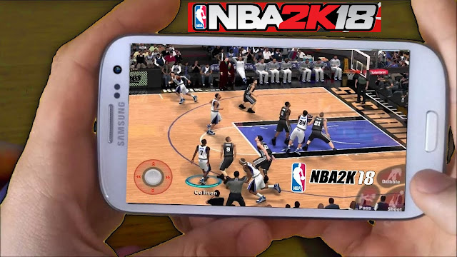 Download NBA 2K18 Mod Apk Android Unlimited Money VC Game