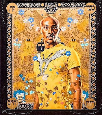 John Malveaux:  Skirball Cultural Center:  The World Stage: Israel  by Kehinde Wiley