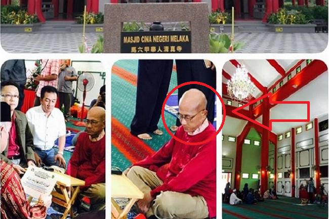 Seorang biksu Budha Taiwan memeluk Islam setelah mempelajari semua agama selama hampir 30 tahun