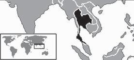 Luas, Letak, dan Batas Wilayah Thailand