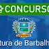 Edital do concurso público da prefeitura de Barbalha é divulgado